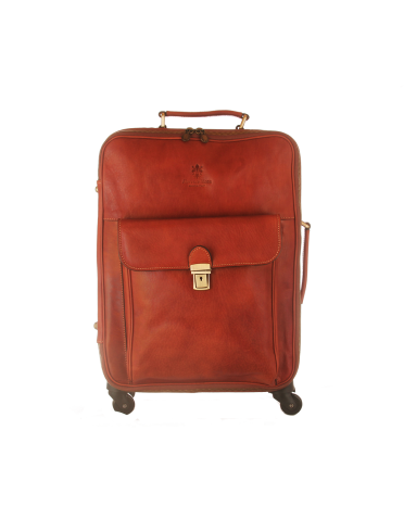 Florence moon Leather Trolley