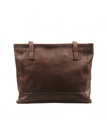 Florence moon Opaque leather bag