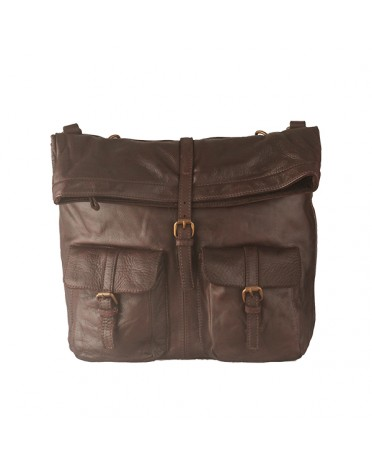 Florence Moon's backpack in Real Leather