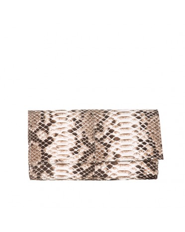Florence Moon's Real python leather...